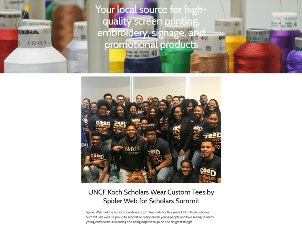 Spider Web Promotions Newsletter May 2018